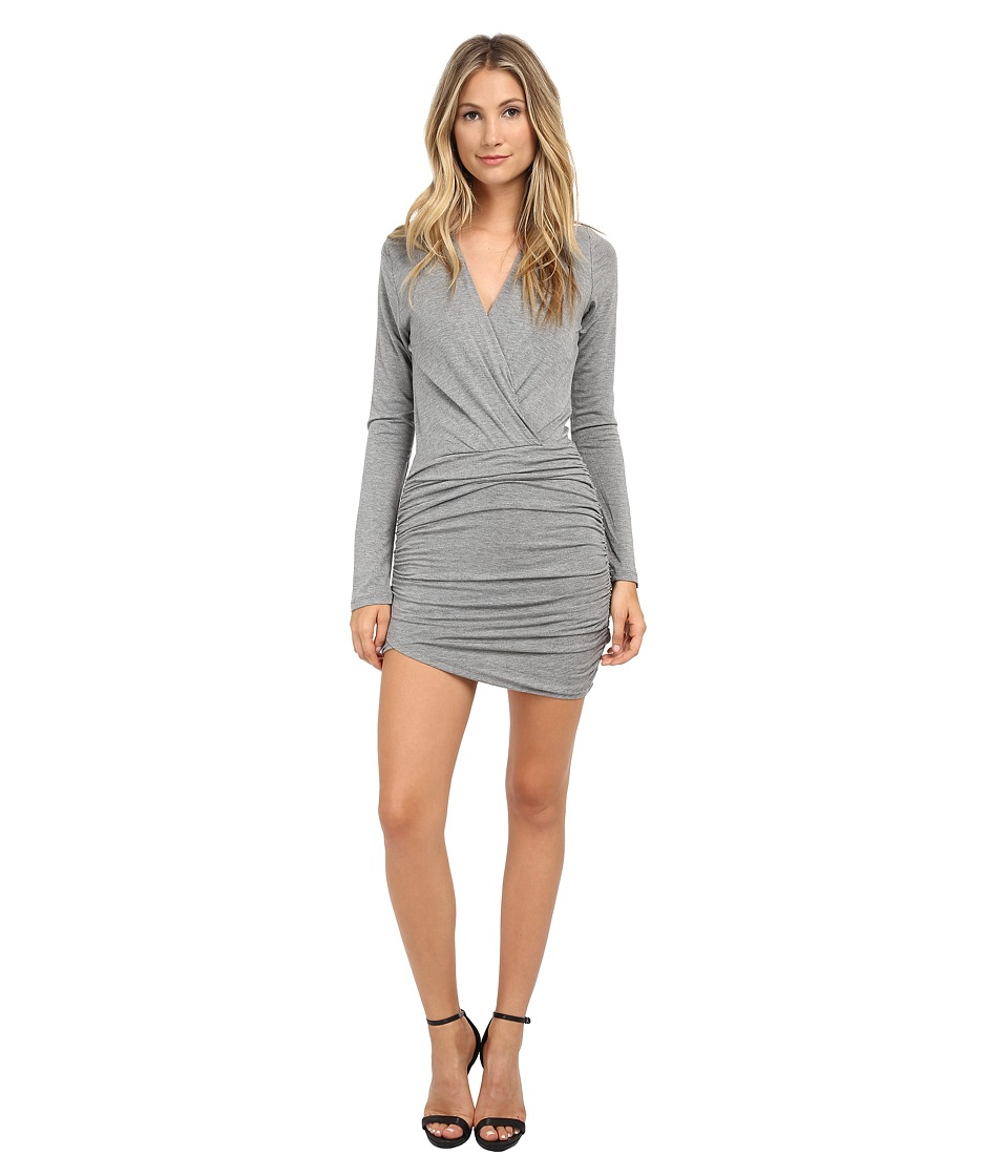 Young Fabulous & Broke - Babe Dress (Heather Grey) Women's Dress