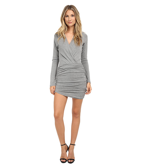 Young Fabulous & Broke - Babe Dress (Heather Grey) Women