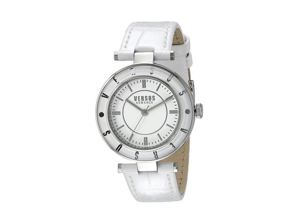 Versus Versace - Logo - SP812 0015 (Stainless Steel/White) Watches