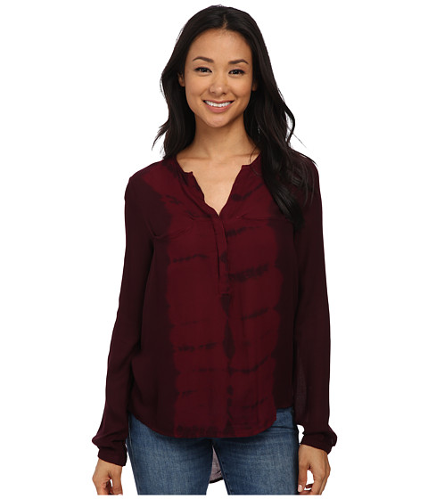 Young Fabulous & Broke - Hayes Top (Cranberry Tiger) Women's Clothing