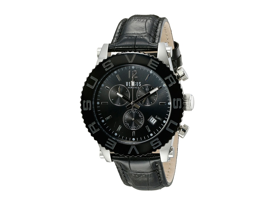 Versus Versace - Madison - SOH07 0015 (Stainless Steel/Black) Watches