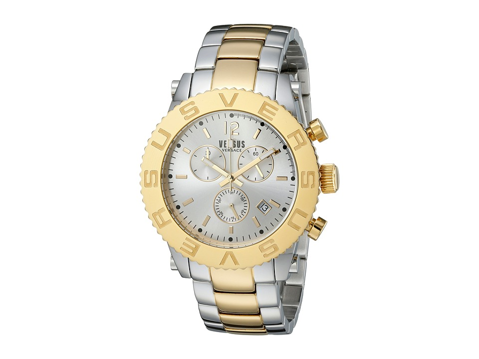 Versus Versace - Madison - SOH01 0015 (Stainless Steel/Yellow Gold) Watches