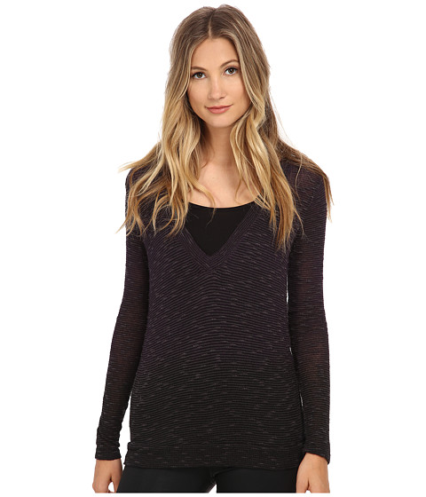 Young Fabulous & Broke - Robin Sweater (Amethyst/Dip Dye) Women