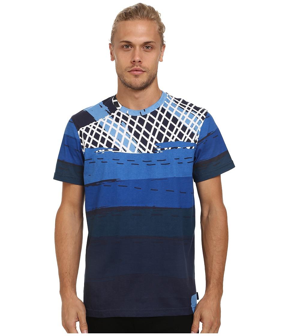 Staple - Neon Tee (Navy) Men's T Shirt