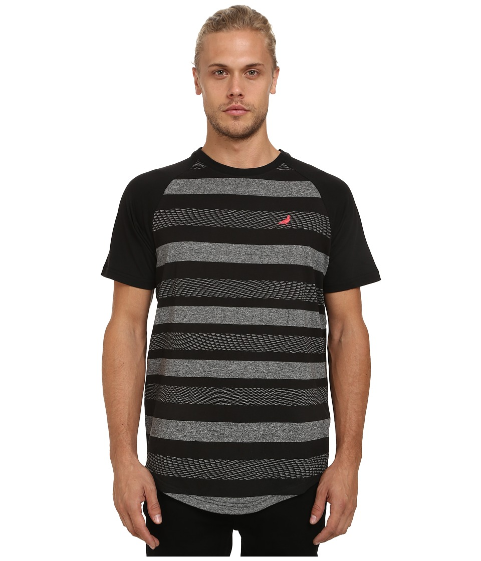 Staple - Nightshade Stripe Tee (Gray) Men
