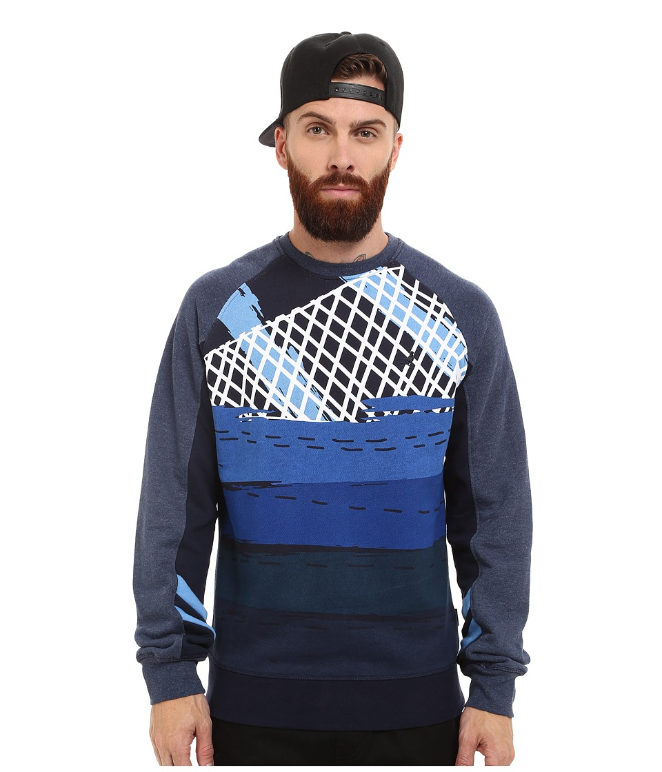 Staple - Max Crew Neck (Navy) Men's Sweater