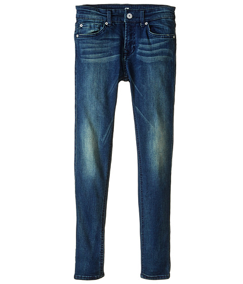 7 For All Mankind Kids - The Skinny in Summit Blue (Big Kids) (Summit Blue) Girl's Jeans