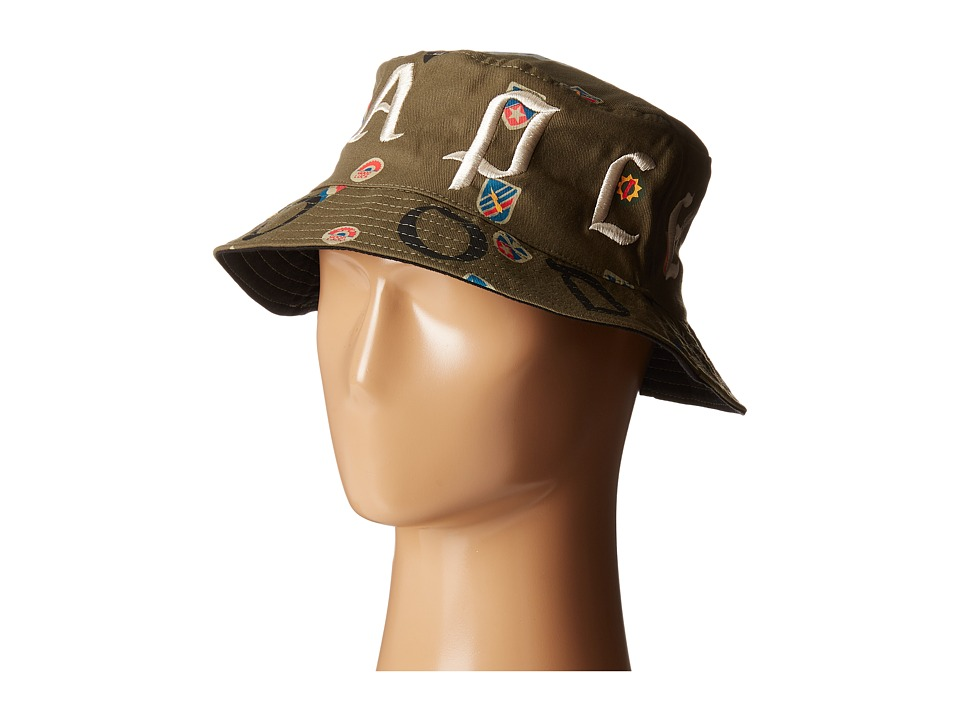 Staple - Combat Bucket Hat (Olive) Caps