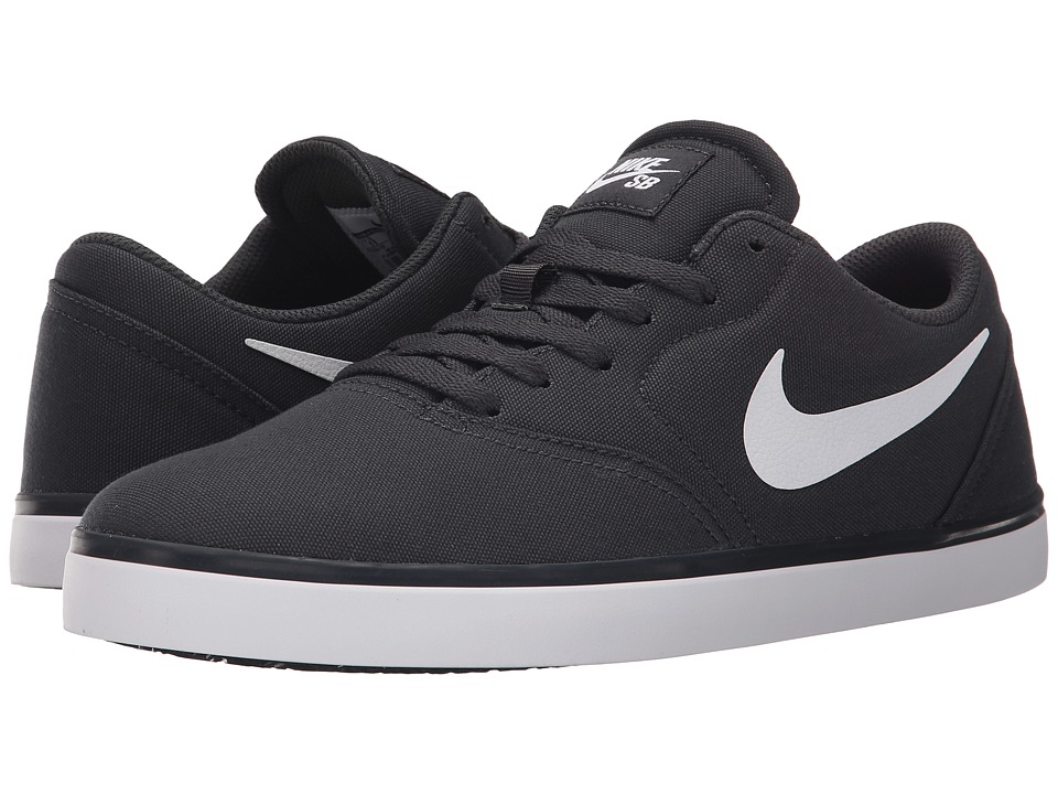 Nike SB - Check Canvas (Anthracite/Black/White) Men's Skate Shoes