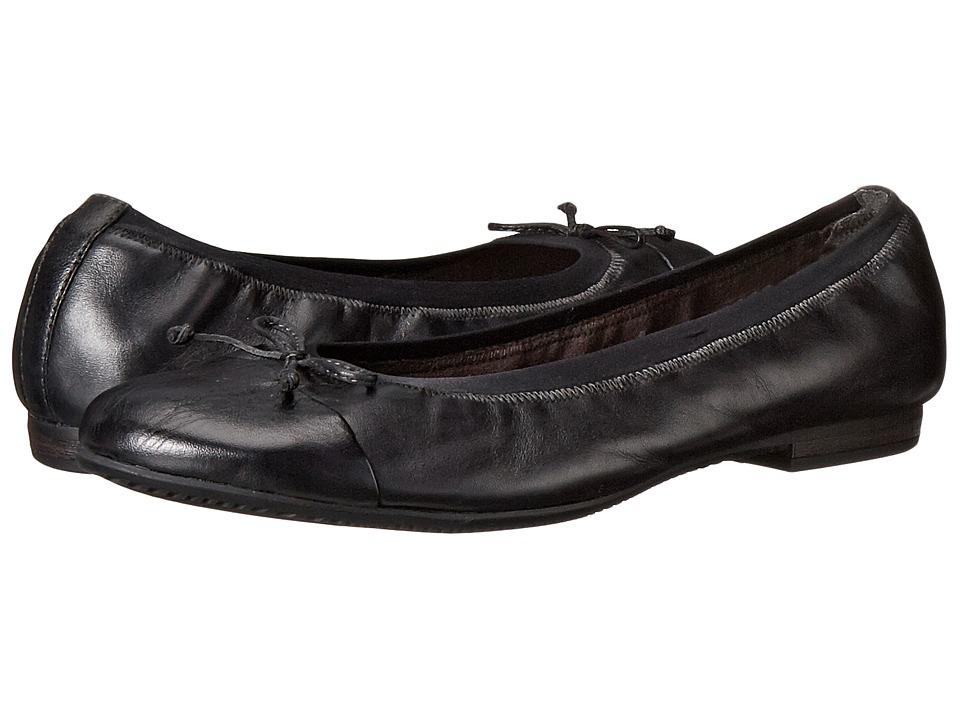 Tamaris - Alena (Black Uni) Women's Flat Shoes
