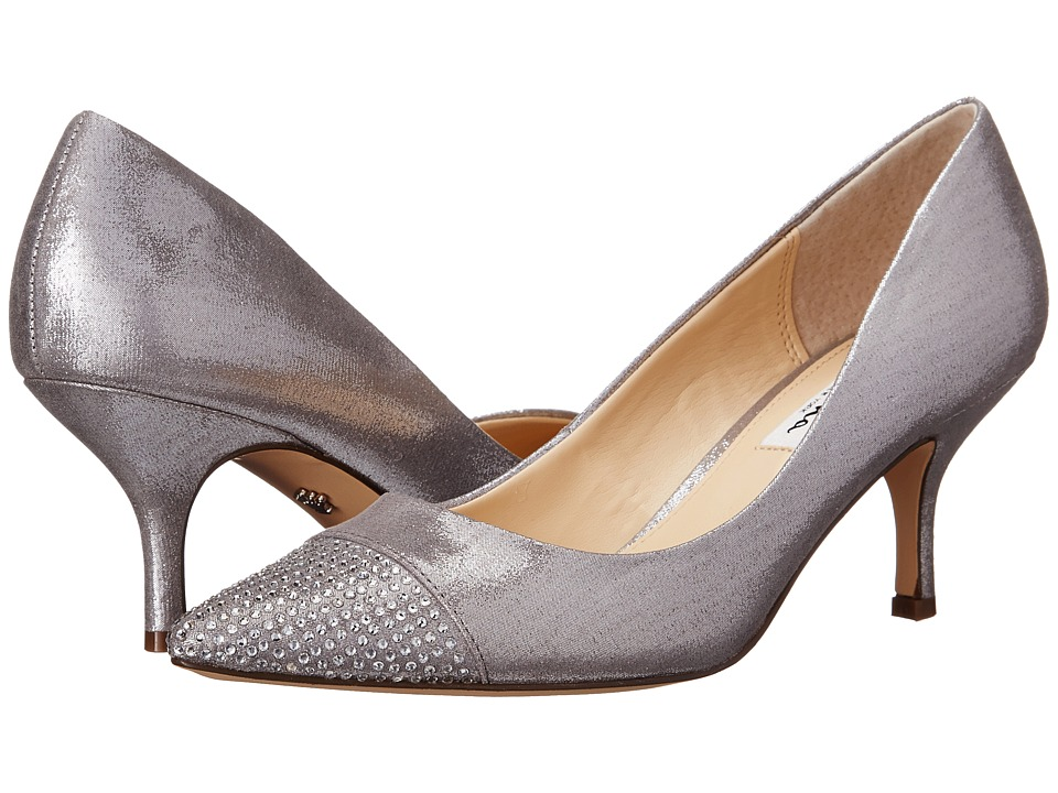 Nina - Belanna (Dark Silver) Women's 1-2 inch heel Shoes