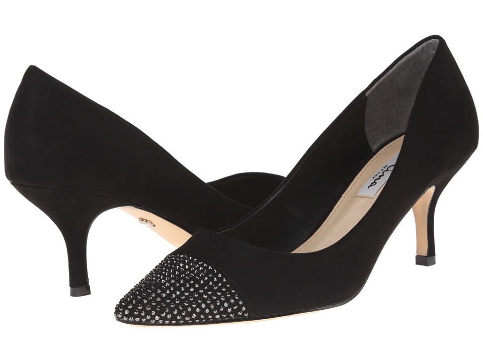 Nina - Belanna (Black) Women's 1-2 inch heel Shoes