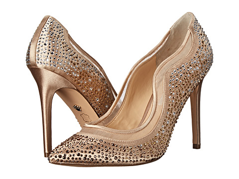 Nina - Ryoko (Royal Gold/Champagne) High Heels