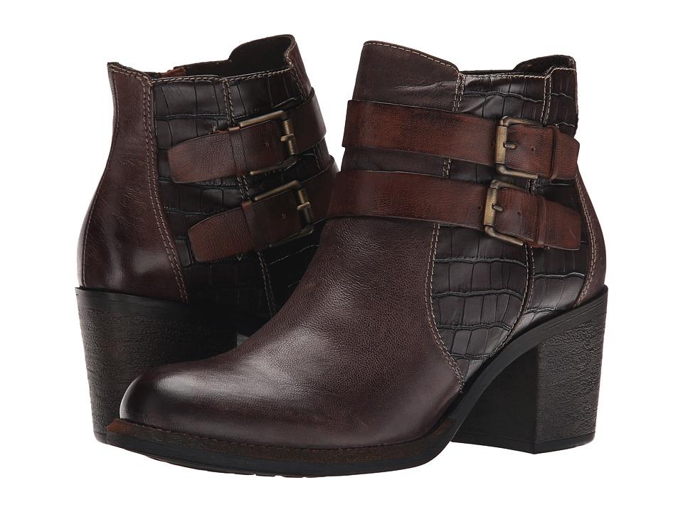 Tamaris - Jacy 1-1-25020-25 (Mocca Combo) Women's Boots
