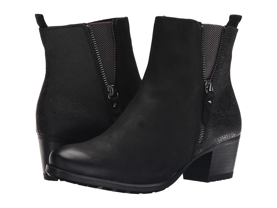 Tamaris - Campsis 1-1-25370-25 (Black Combo) Women's Boots
