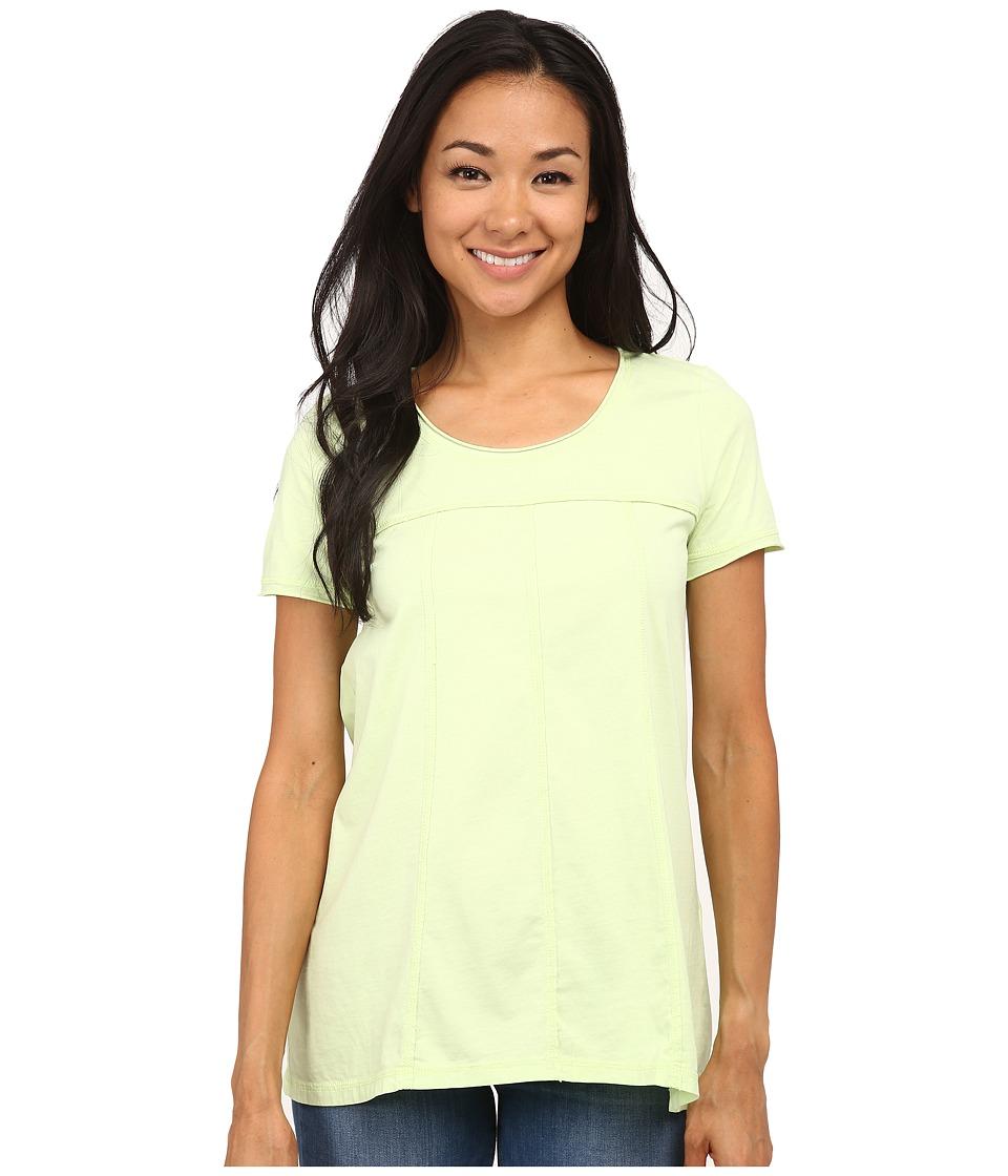 Mod-o-doc - Classic Jersey Short Sleeve Seamed Scoopneck Tee (Margarita) Women's T Shirt