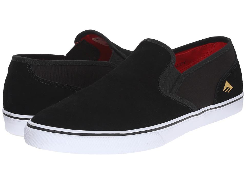 Emerica Provost Cruiser Slip (Black/White) Men
