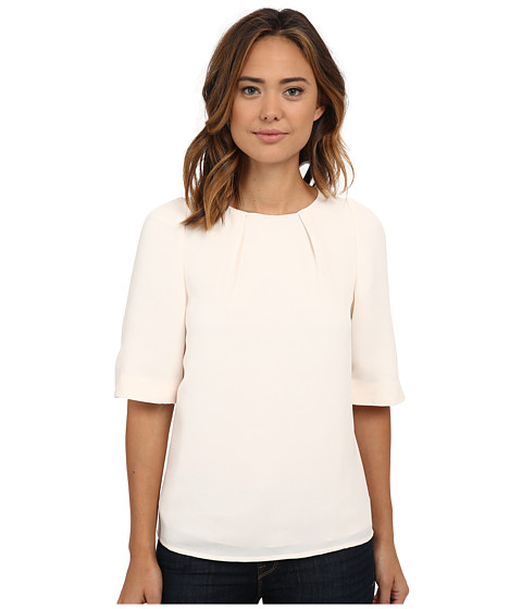Ted Baker - Bell Sleeve Textured Top (Natural) Women's Clothing