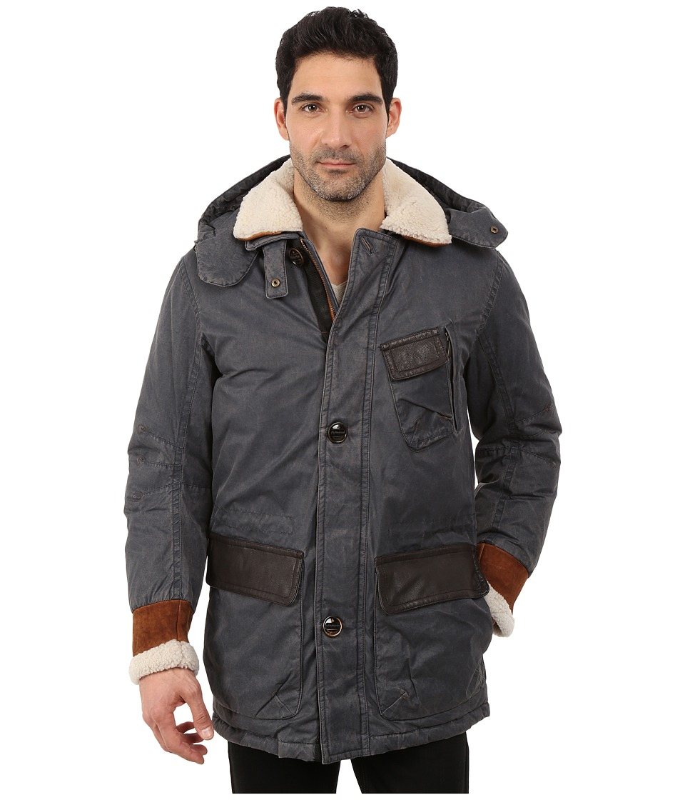 Rainforest - Daviston Coat (Black) Men's Coat