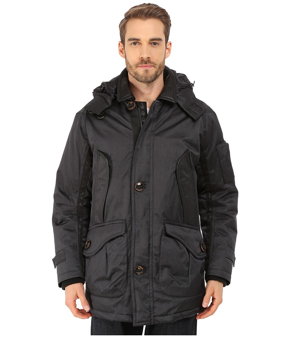 Rainforest - Munford Coat (Black) Men's Coat