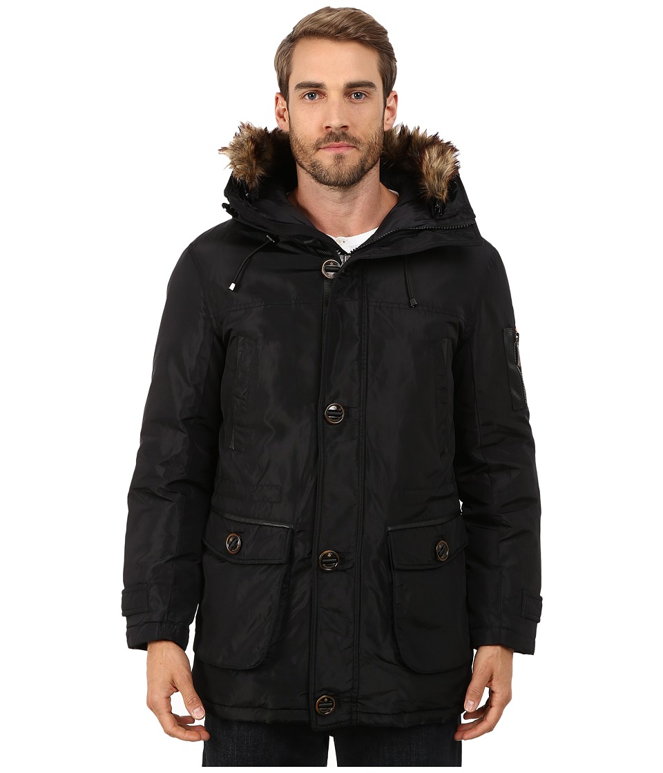 Rainforest - Ranburne Coat (Black) Men's Coat