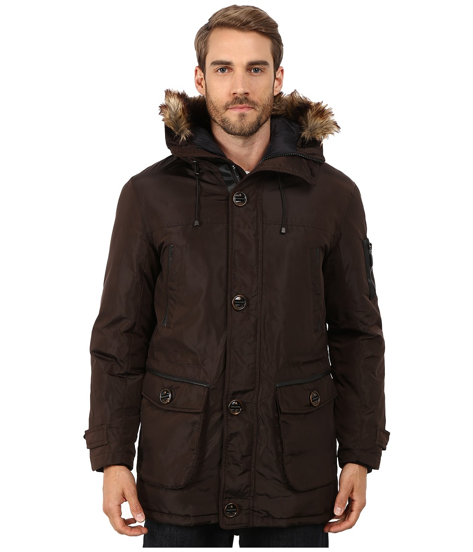 Rainforest - Ranburne Coat (Carob) Men's Coat