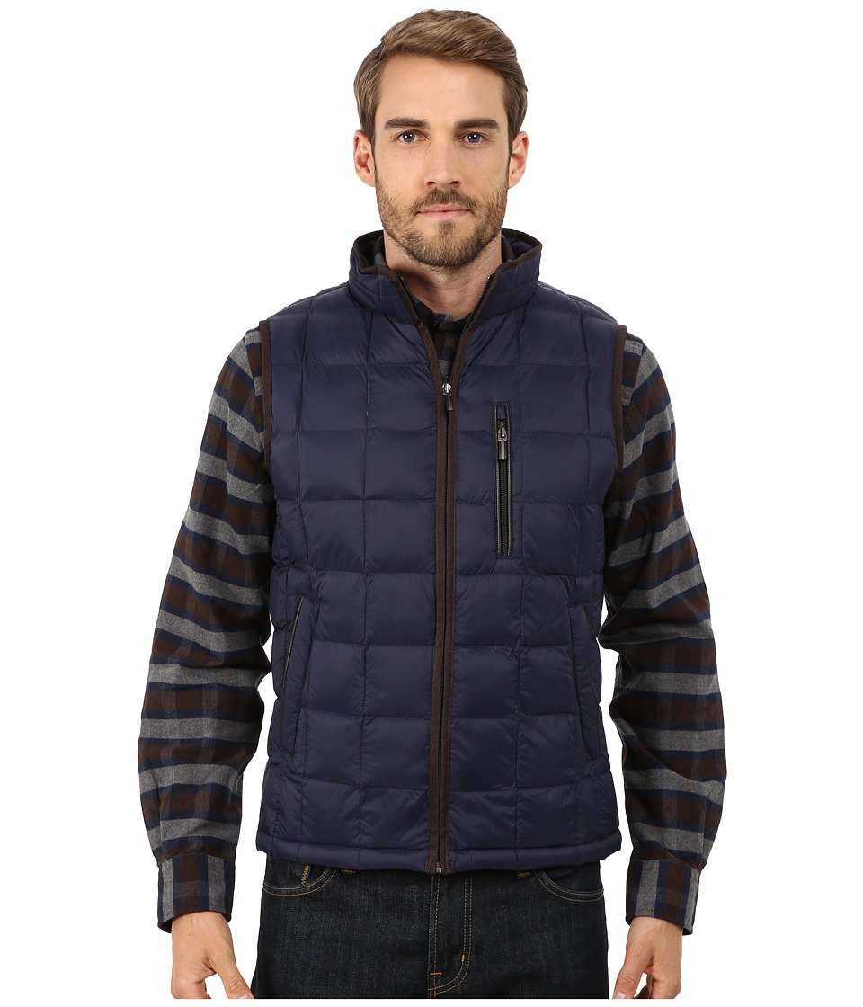 Rainforest - Quilted Vest w/ ThermoLuxe Insulation (Ink 1) Men