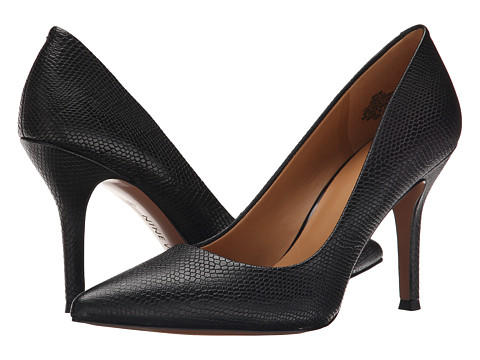 Nine West - Flax (Black Reptile) High Heels