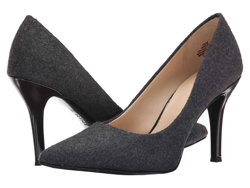 Nine West - Flax (Grey Fabric) High Heels