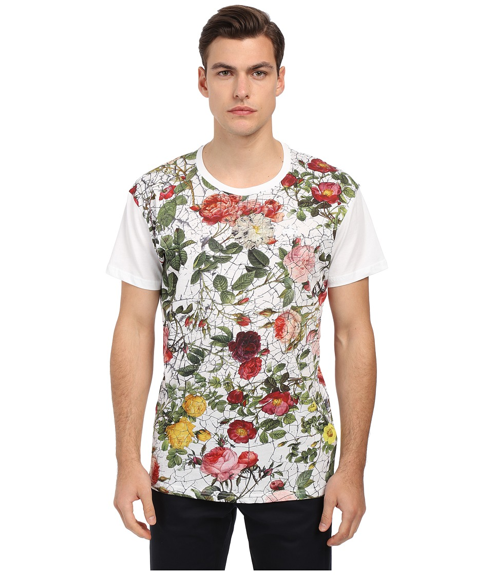 Vivienne Westwood - Jersey Porcelain Roses Tee (White) Men's T Shirt