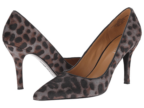 Nine West - Flax (Dark Grey Multi/Black Pony) High Heels