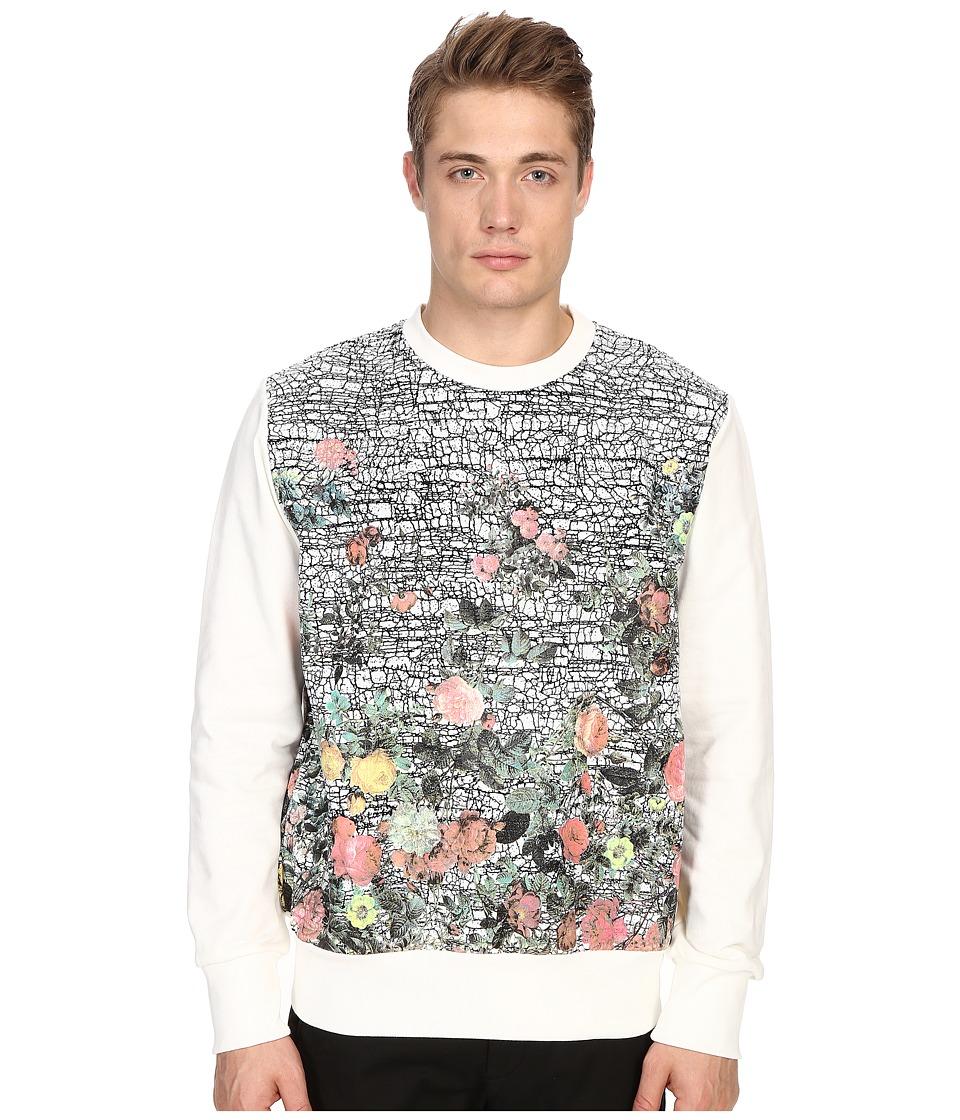 Vivienne Westwood - Porcelain Roses Sweatshirt (White) Men's Sweatshirt