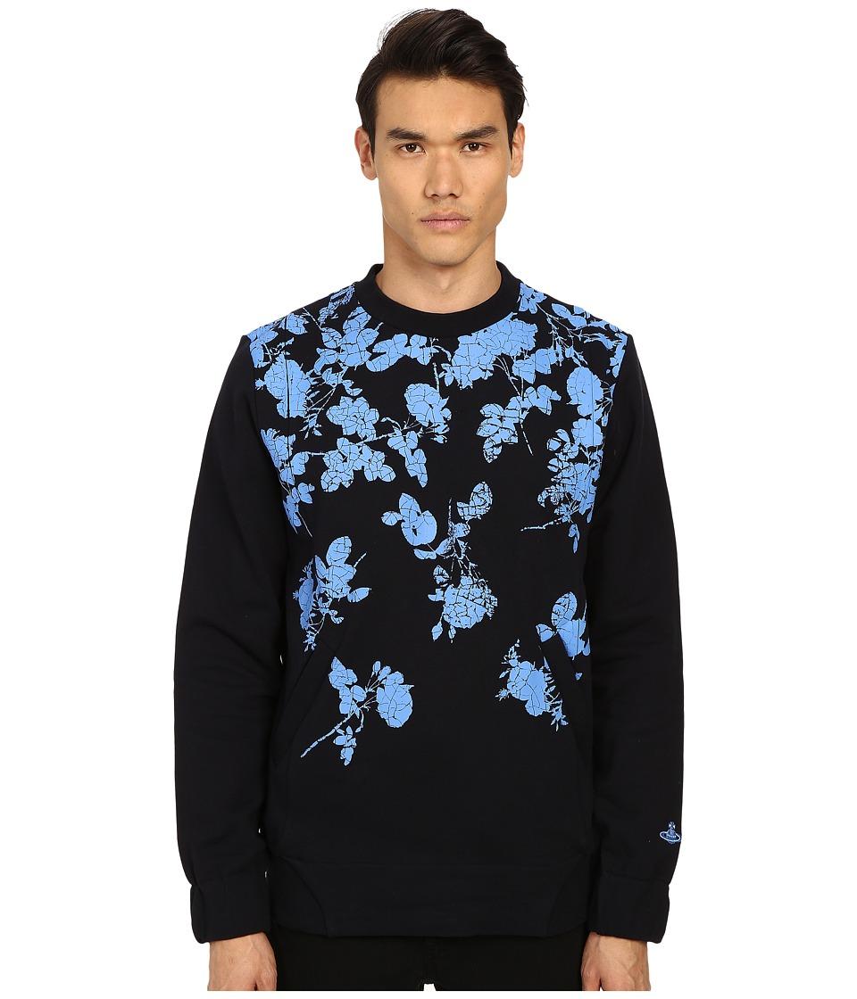 Vivienne Westwood - Pilgrim Sweatshirt (Navy) Men's Sweatshirt