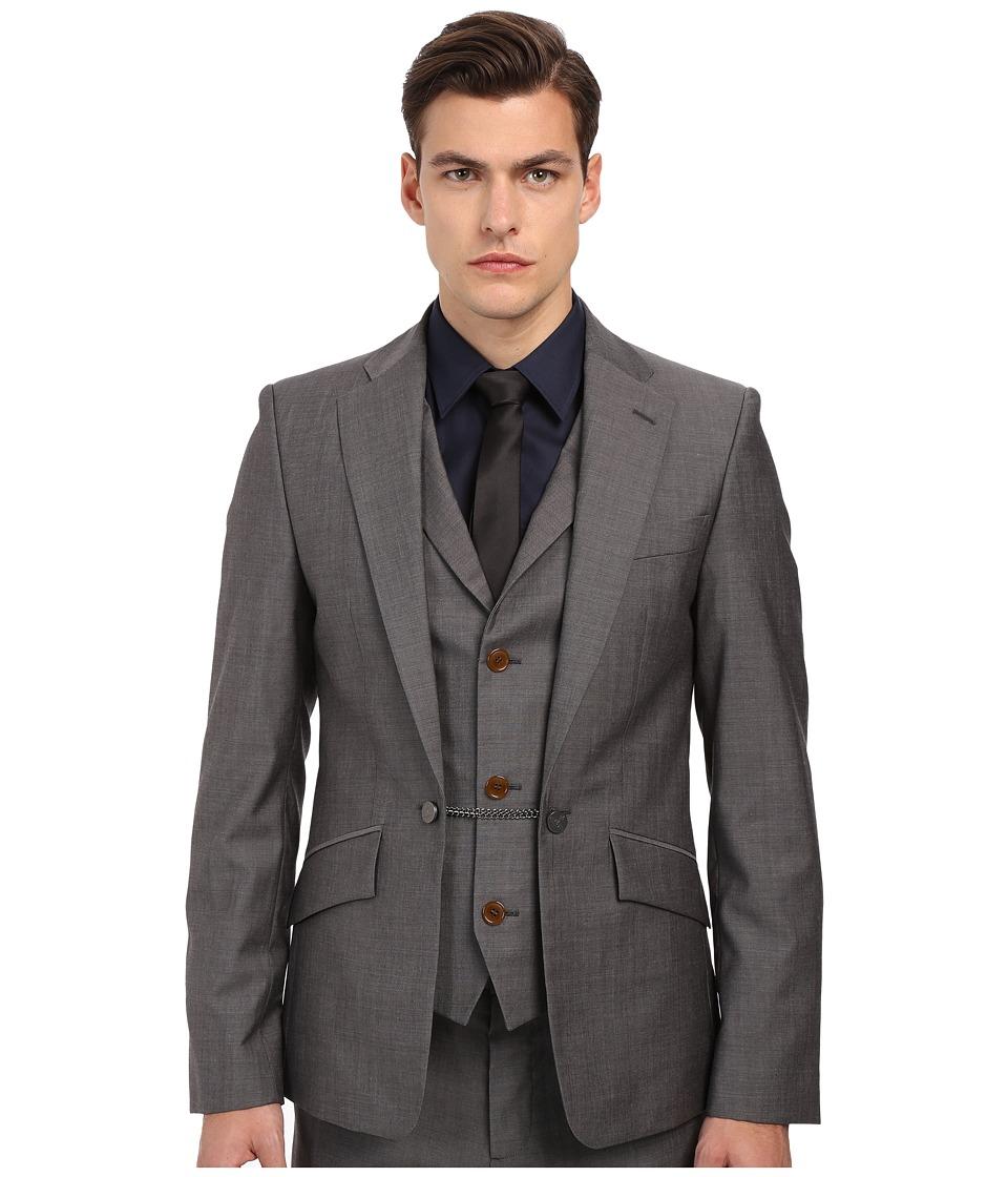 Vivienne Westwood - Waistcoat Jacket (Grey Melange) Men's Jacket