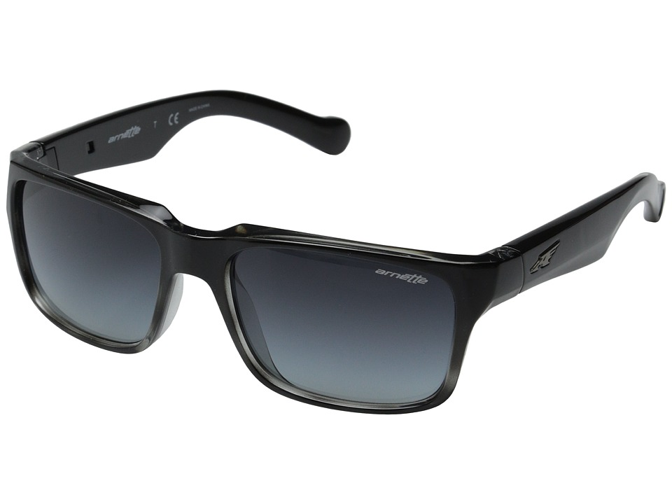 Arnette - D Street (Black Fade/Grey Havana/Grey Gradient) Sport Sunglasses