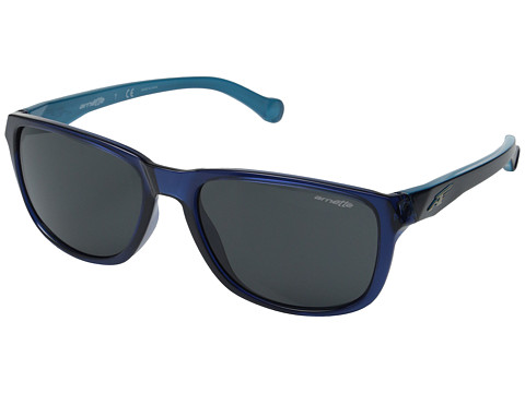 Arnette - Straight Cut (Dark Blue/Sky Blue/Grey) Sport Sunglasses