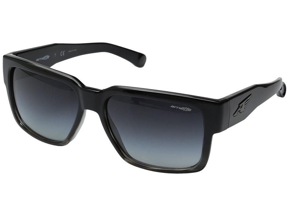 Arnette - Supplier (Black to Grey Havana/Grey Gradient) Sport Sunglasses
