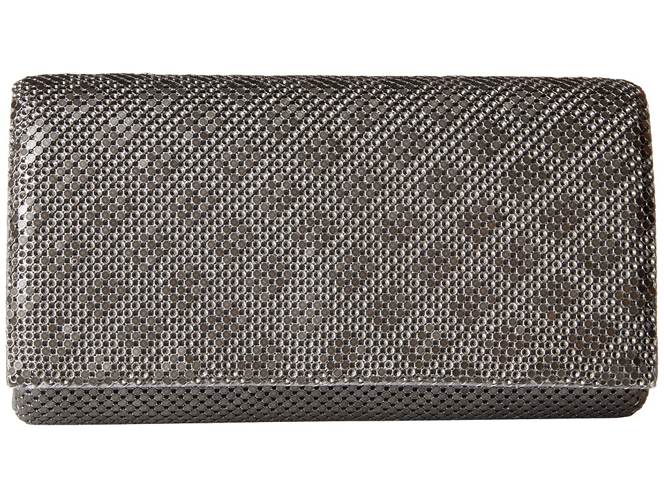 Jessica McClintock - Cassie Clutch (Pewter) Clutch Handbags