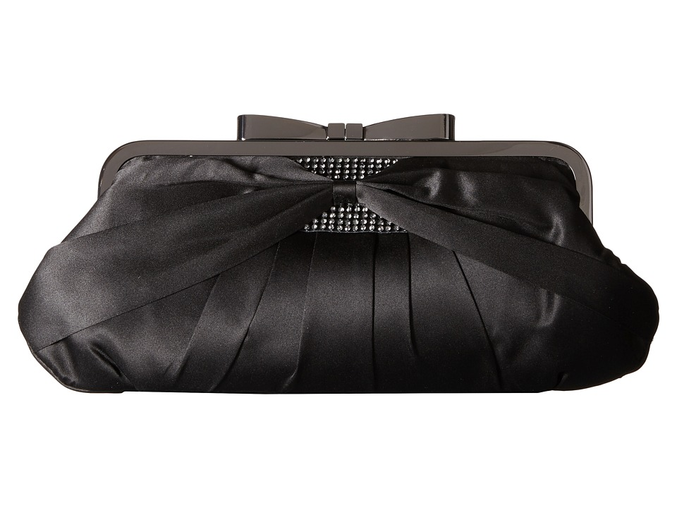 Jessica McClintock - Arianna Clutch (Black) Clutch Handbags