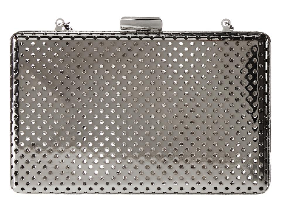 Jessica McClintock - Reese Clutch (Silver) Clutch Handbags