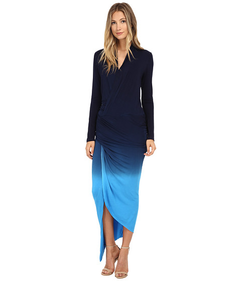Young Fabulous & Broke - Brielle Maxi (Blue Ombre) Women's Dress