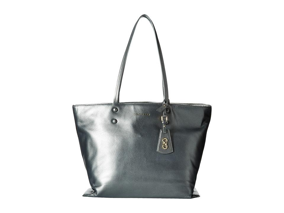 Cole Haan - Hannah Tote (Gunmetal) Tote Handbags