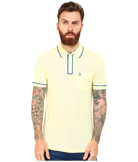Original Penguin - Earl Polo (Tender Yellow) Men's Clothing