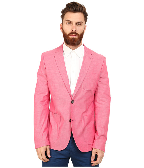 Original Penguin - Club Blazer Slim Fit (Virtual Pink) Men's Clothing