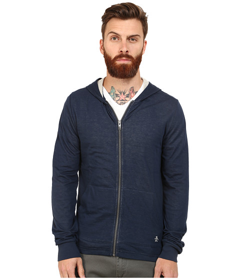 Original Penguin - Duofold Hoodie (Dress Blues) Men's Sweatshirt