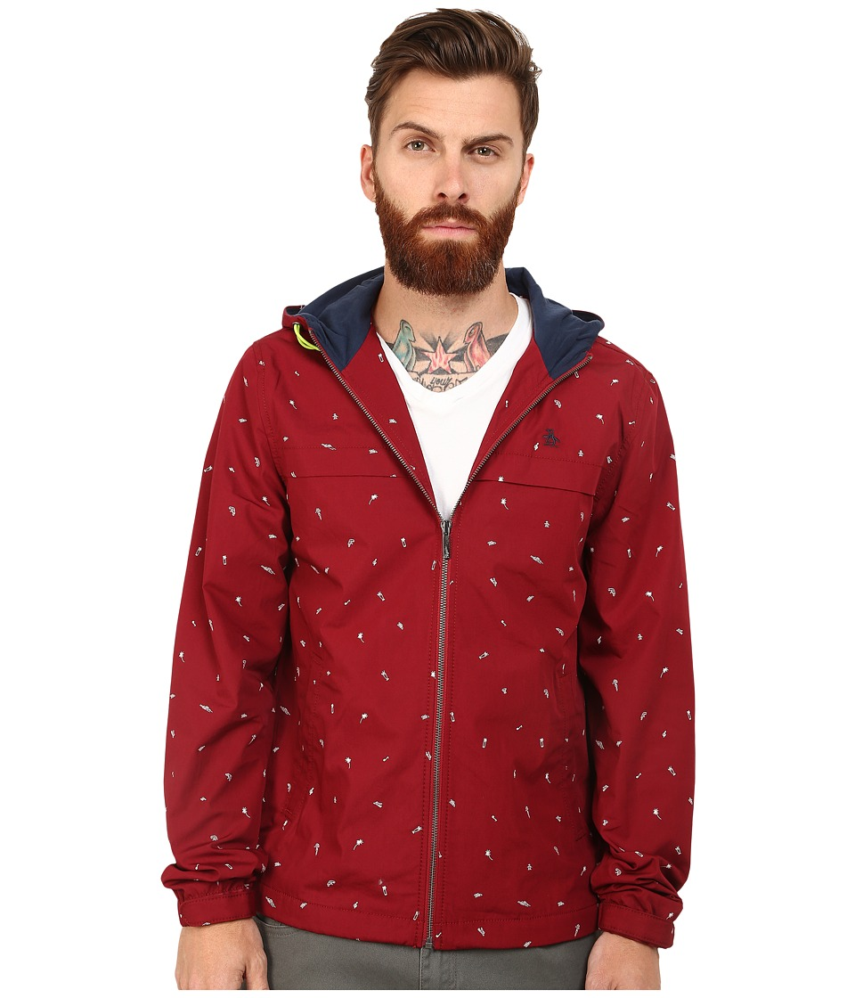 Original Penguin - Windbreaker (Biking Red) Men