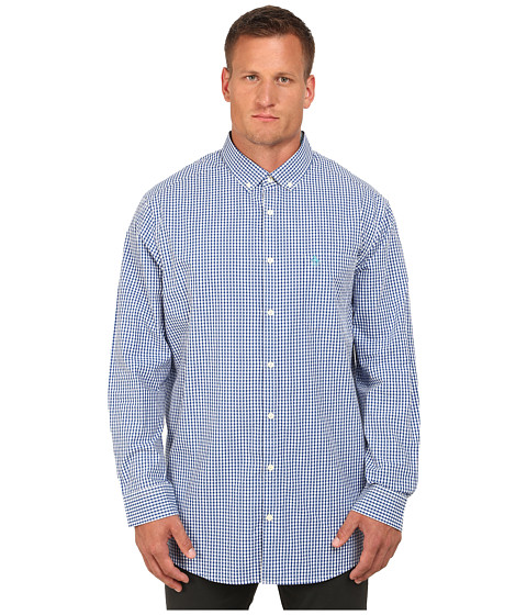 Original Penguin - Big Tall Core Gingham (Classic Blue) Men's Clothing