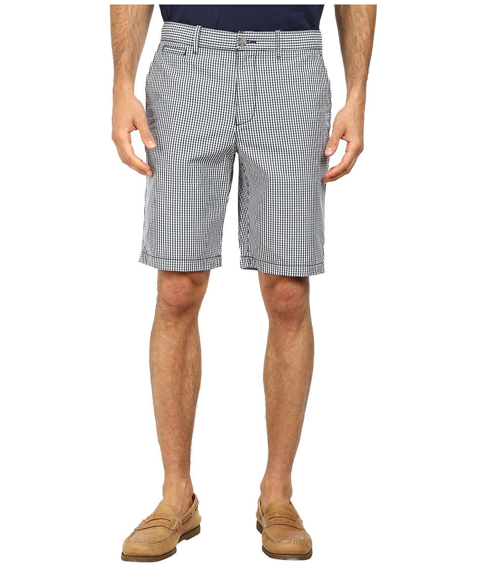Original Penguin - Classic Gingham Shorts (Dress Blues) Men's Shorts