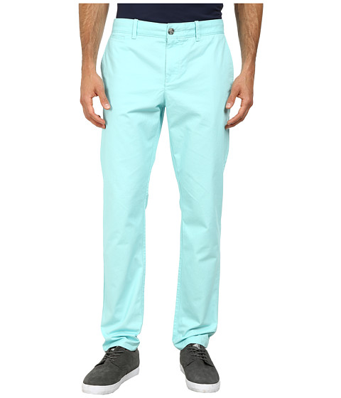 Original Penguin - P55 Chino Slim Fit (Aqua Splash) Men