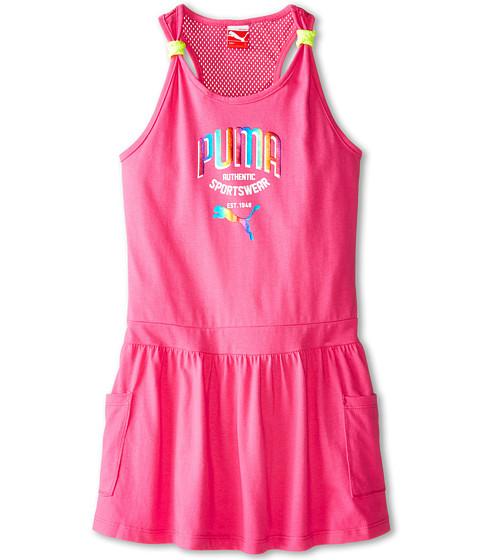 Puma Kids - Rainbow Kick Dress (Big Kids) (Pink Glo) Girl